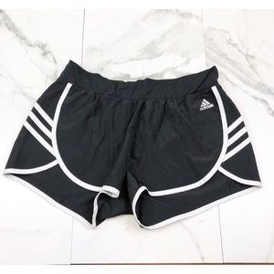Adidas• Black & White Running Shorts